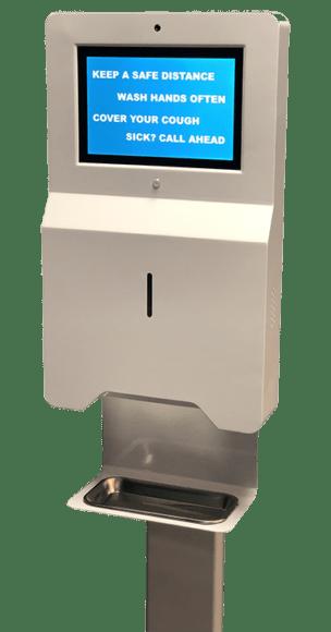 Temperature Taking Kiosks and Temperature Verification Kiosk