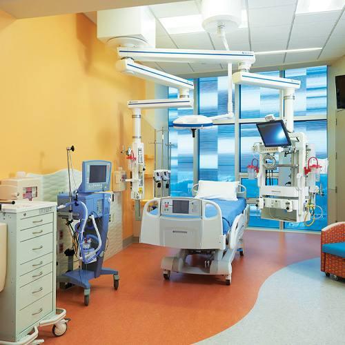 Aurora Astro in Medical Patient Room