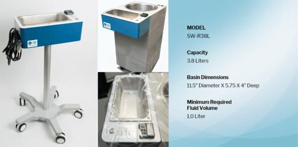 WEG Warmer, Medical Fluid Warmer, Model SW-R38L
