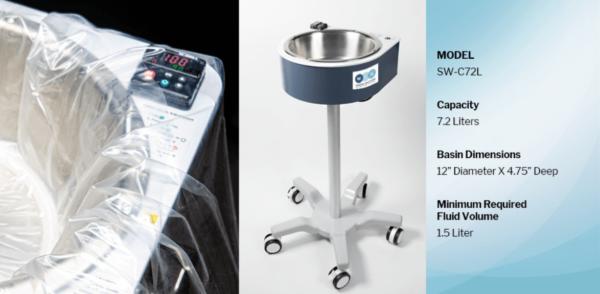 WEG Warmer, Medical Fluid Warmer, Model SW-C72L